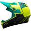 Bell Transfer-9 Fullface Helmet mat retina sear/emerald